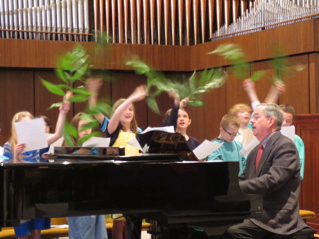 Alleluia Choir, Palm Sunday 2013, #2