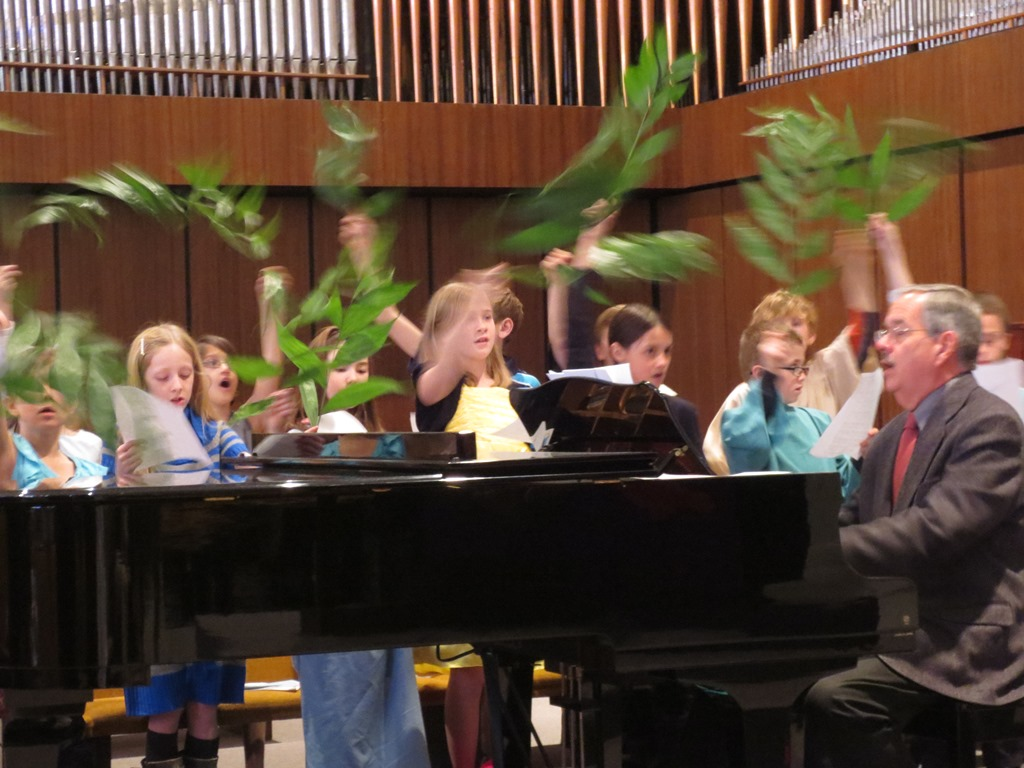Alleluia Choir, Palm Sunday, 2013