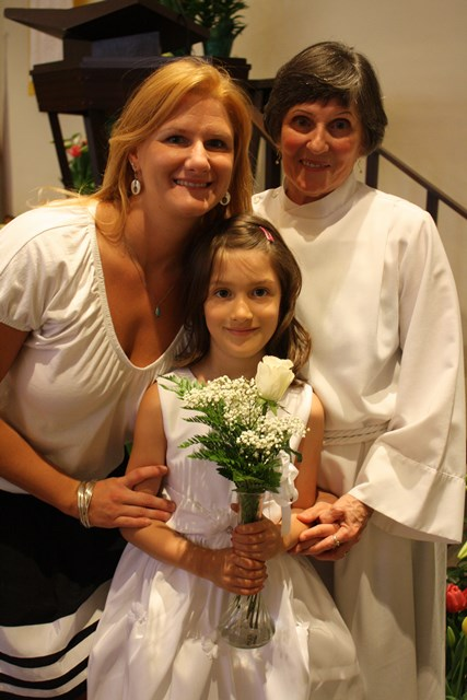 First Communion for Isabella