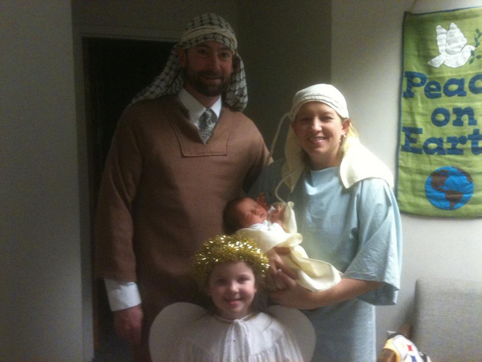 The Holy Family, Christmas Eve, 2011