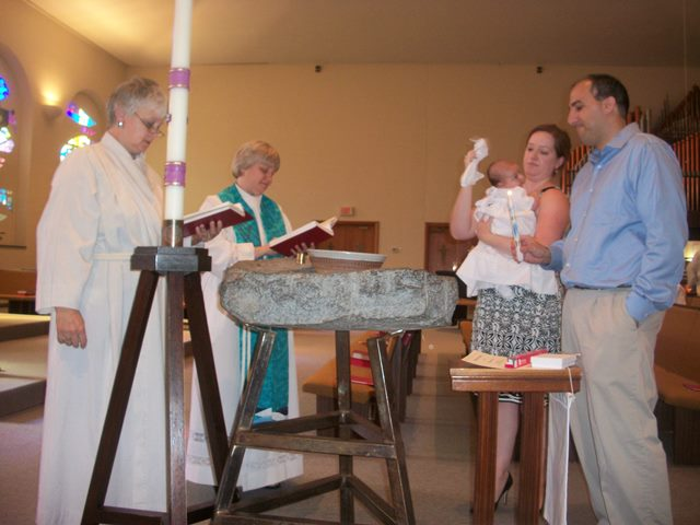 Baptisms at St. James