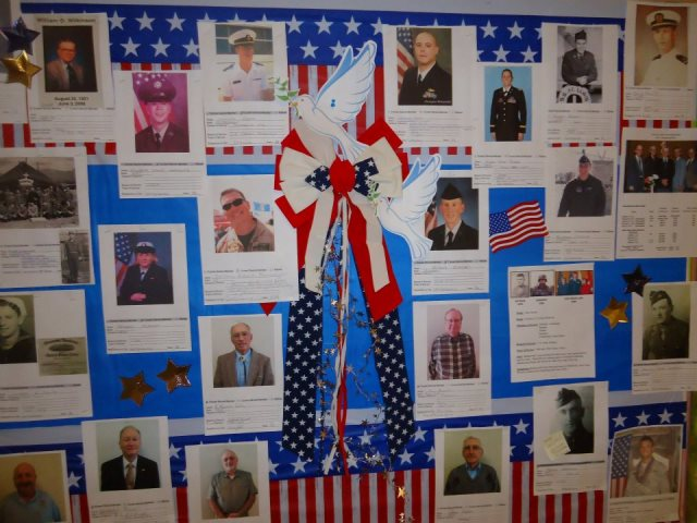 Honoring Servicemen and Women from St. James