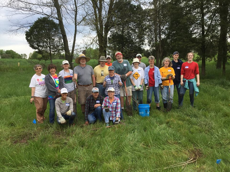St. James Creation Care Team Earth Day 2017